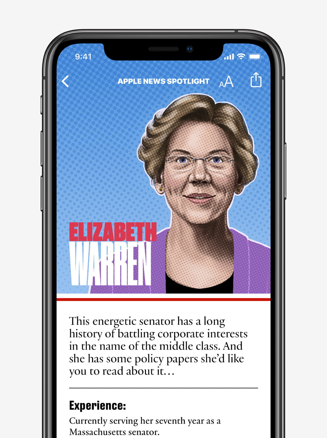 Apple News wants to tell you all about the Democratic presidential candidates