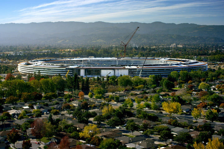 Apple Park construction