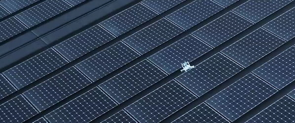 Watch a drone lose control and crash onto Apple Park's solar roof