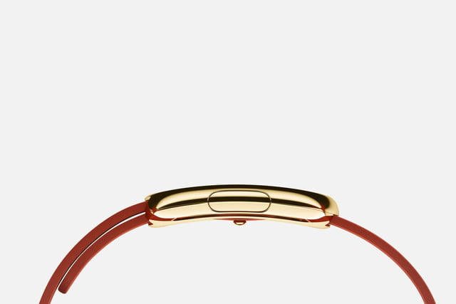 apple watch release news edition yellow gold red clasp