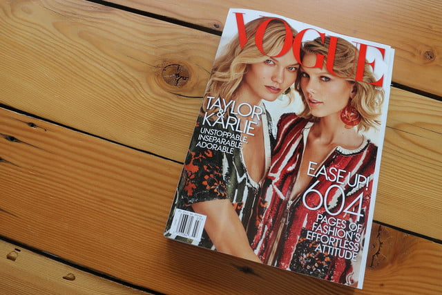 apple watch splashed across 12 pages of vogues march issue vogue ad 6113