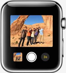 apple watch release news camera remote