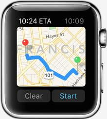 apple watch release news maps