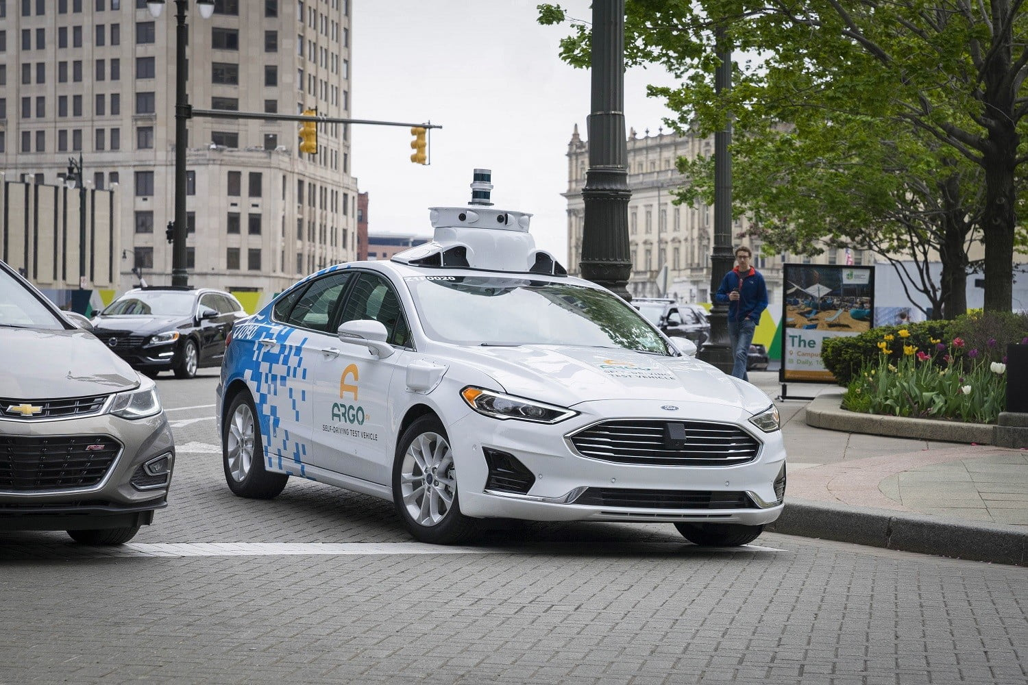 Volkswagen And Ford Partner On Electric Cars Autonomous Driving