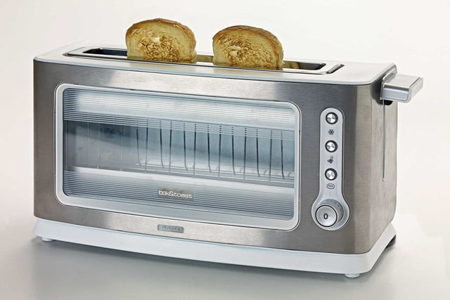 This Transparent Toaster Ensures You Won t Burn Your Bagels Ever