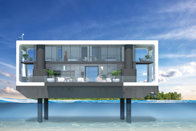arkup floating hurricane proof home mobile 6