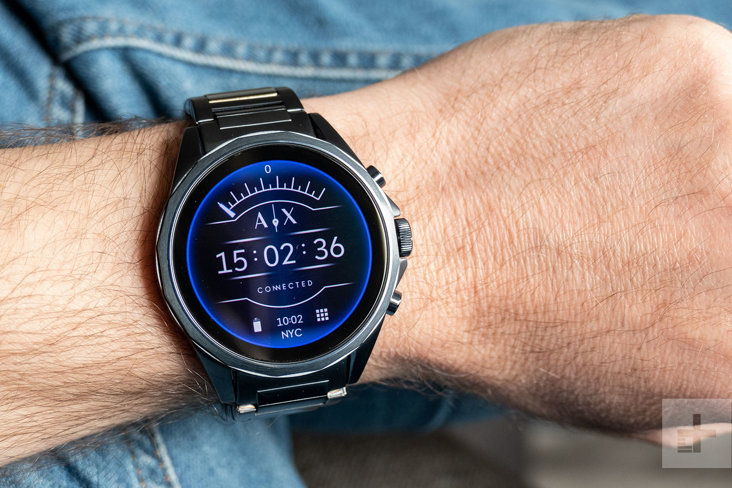 78083a91e Armani Exchange AX Connected Review | Digital Trends
