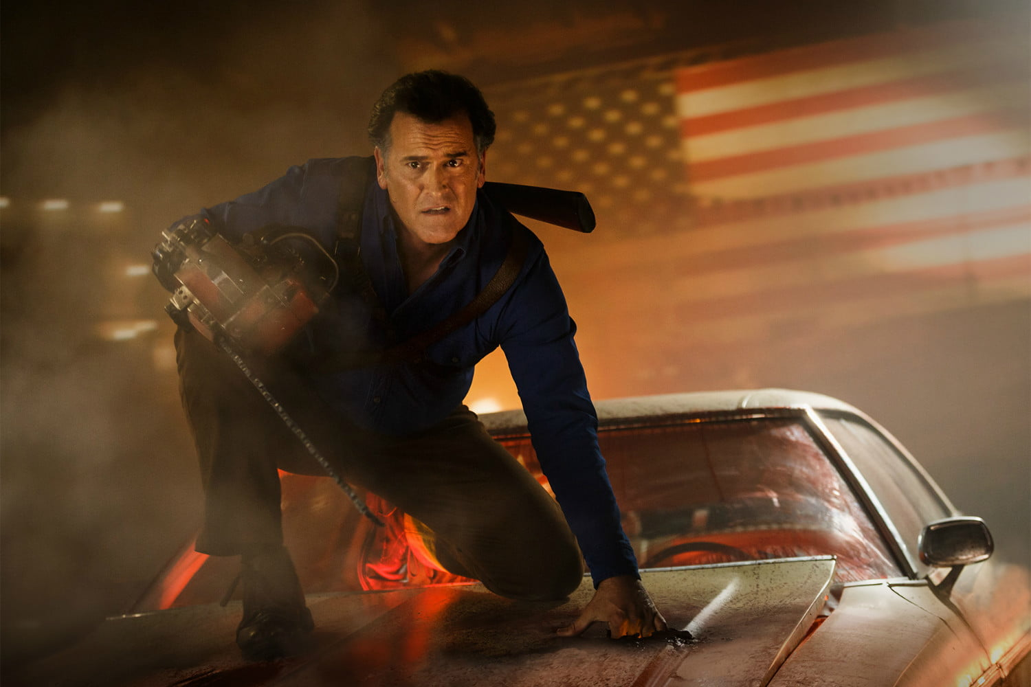 everything we know about ash vs evil dead season 3 digital trends
