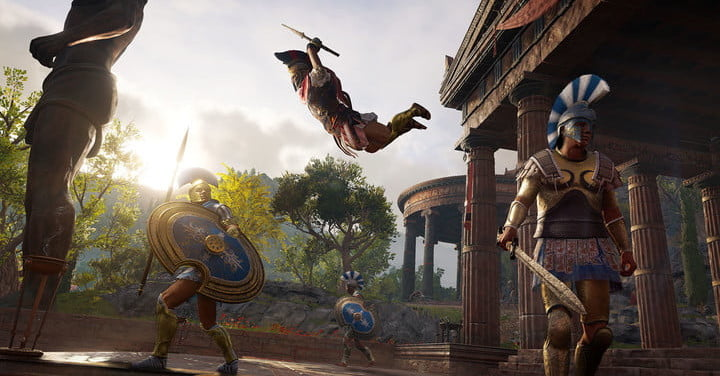 Assassin S Creed Odyssey To Feature Two Playable Main