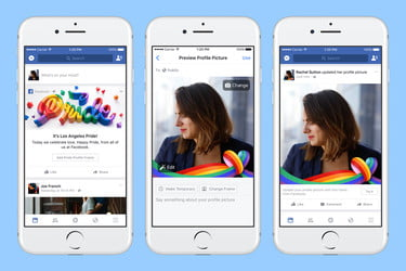 Facebook and Instagram Launch Stickers and Reactions For #Pride2017