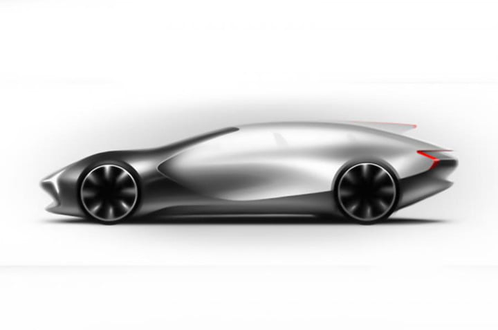 Lovely Aston Martin May Design Electric Sports Car Chinese Internet Brand Ev Sketch