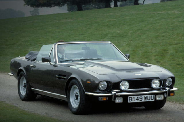 all time wackiest james bond cars aston martin v8 vantage volante  the living daylights 1987