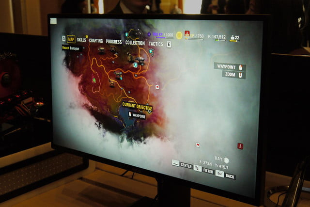 asus shows off their new rog gaming monitors at ces mg279q wqhd game display