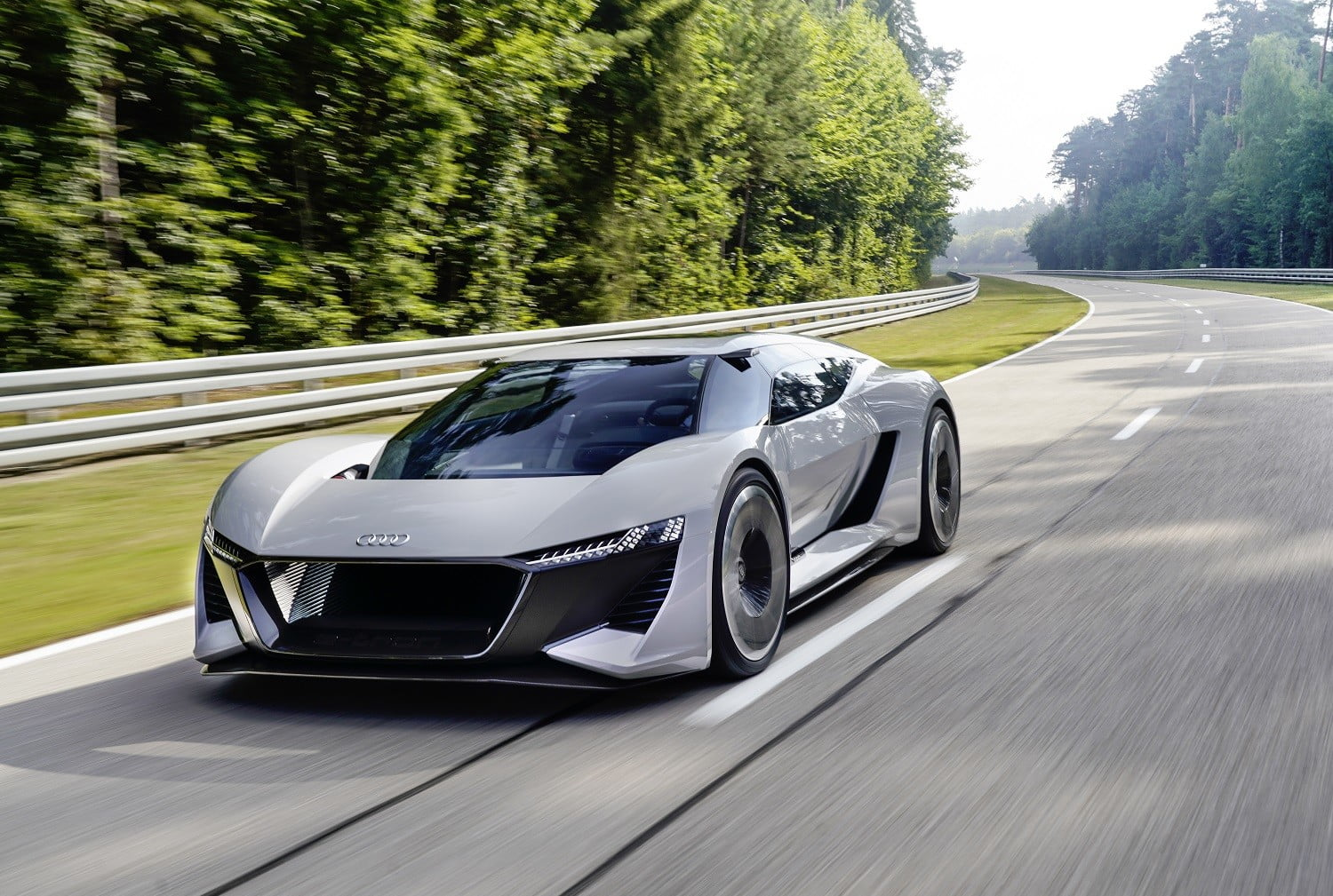 Audi Pb 18 E Tron Concept Allies Performance And Electrification