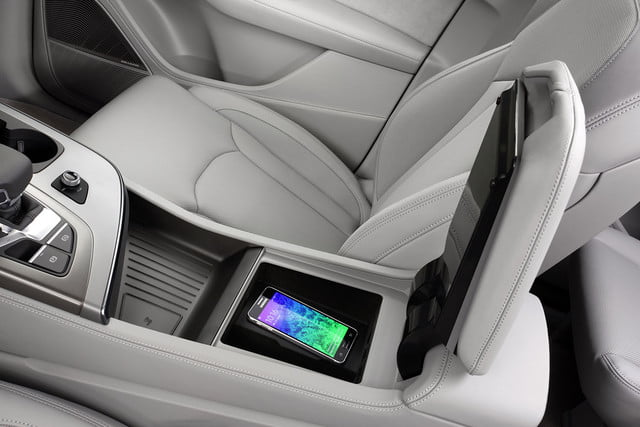 audi previews future interior concepts ces phone box with wireless charging q7150159 large