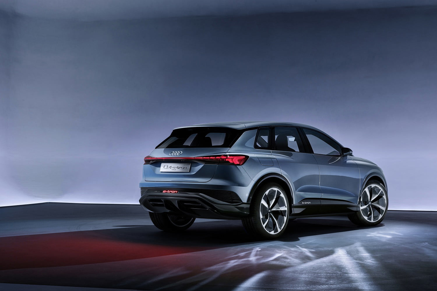 Audi Q4 E Tron Concept Previews Electric Suv Coming In 2020