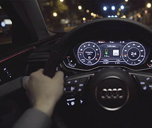 Audi's traffic light information system shows the challenges facing V2X tech