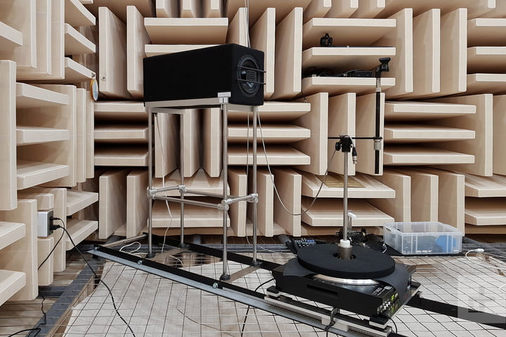 Audio Technica Offices ATH-DSR9BT sound room