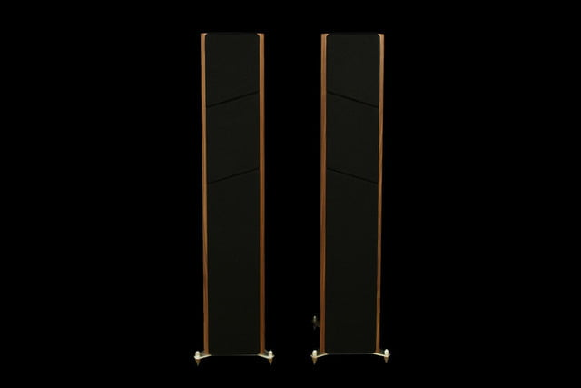 Axiom LFR1100 Floorstanding Speakers Boston Cherry front grilles