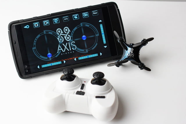 introducing the axis vidius drone axis3