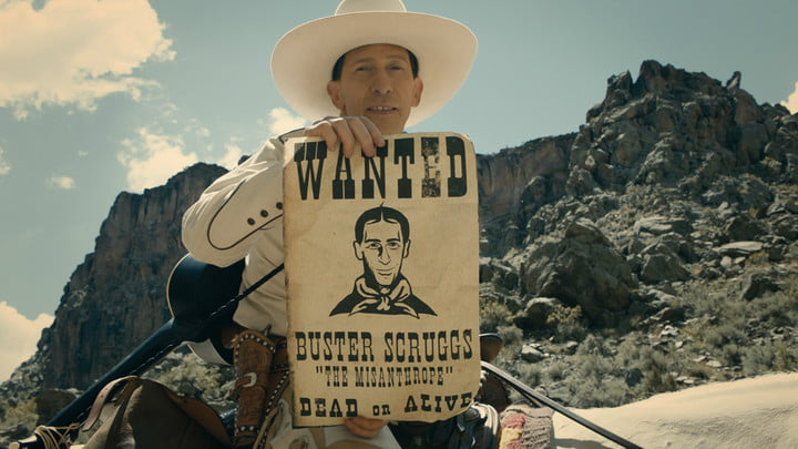 best new shows and movies to stream ballad of buster scruggs header