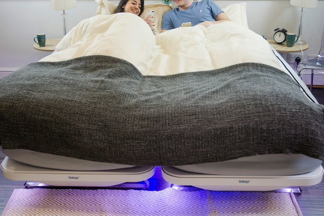 balluga is a smart bed with ac and air suspension underbed lighting