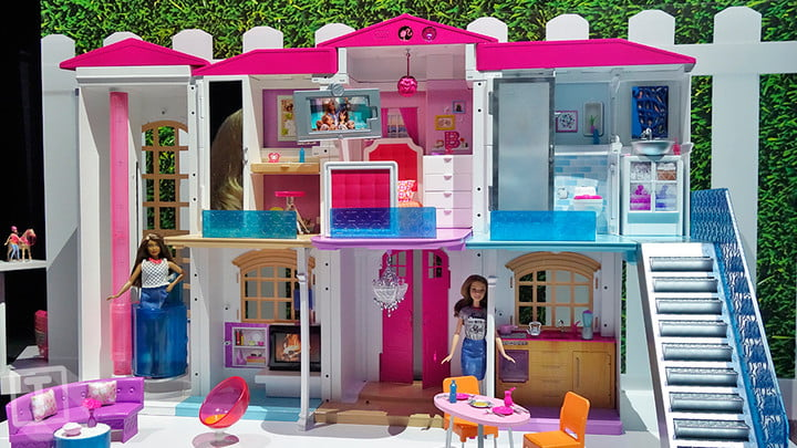 Hello Barbie S Dream House Is A Voice Activated Smart Home Digital