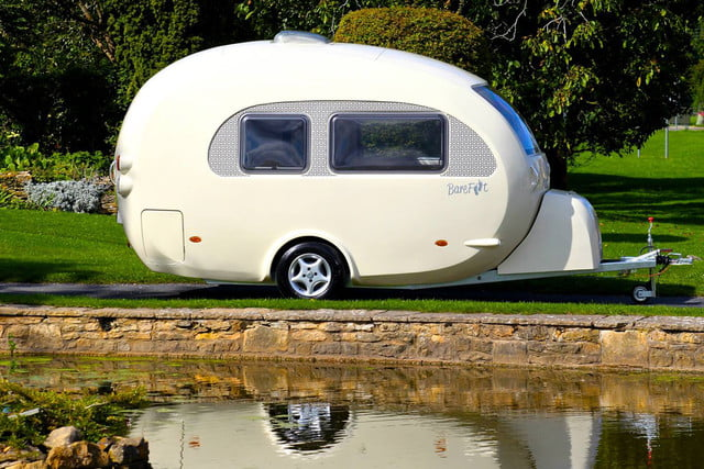 Shell on wheels: This egg-shaped camper wraps modern comforts in retro style