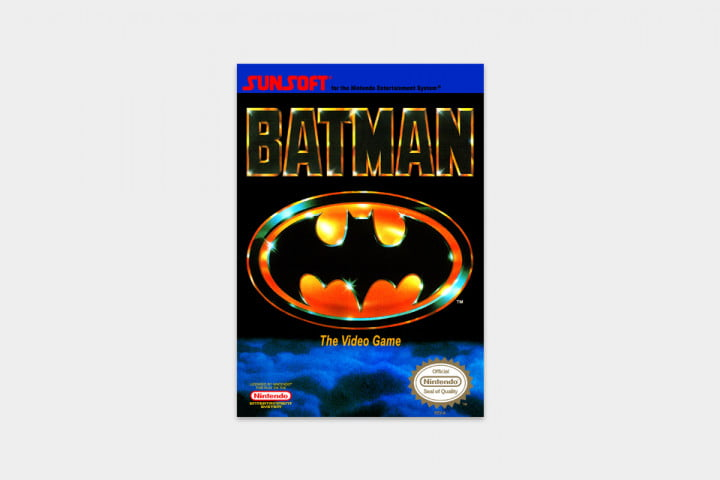 best nes games ever batman cover