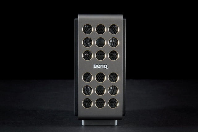 benq trevolo electrostatic bluetooth speaker front closed