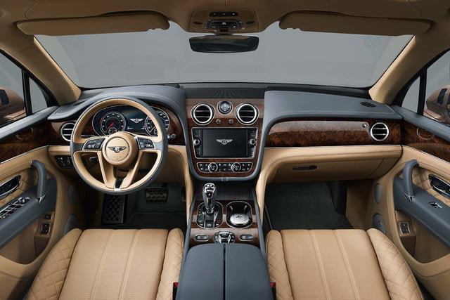 bentley says its bentayga suv can do it all but will customers bite  front cabin 1