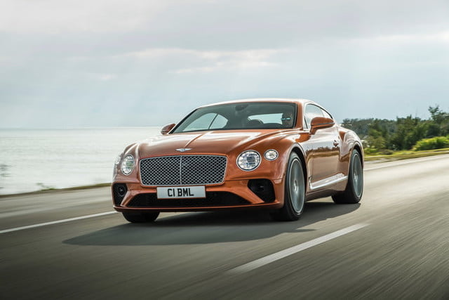 Bentley's 542-horsepower Continental GT V8 is the best kind of downsizing