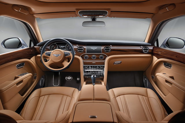 bentley engineering boss interview mulsanne front interior