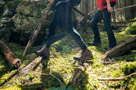 These hiking boots will keep you surefooted even on the gnarliest of hikes
