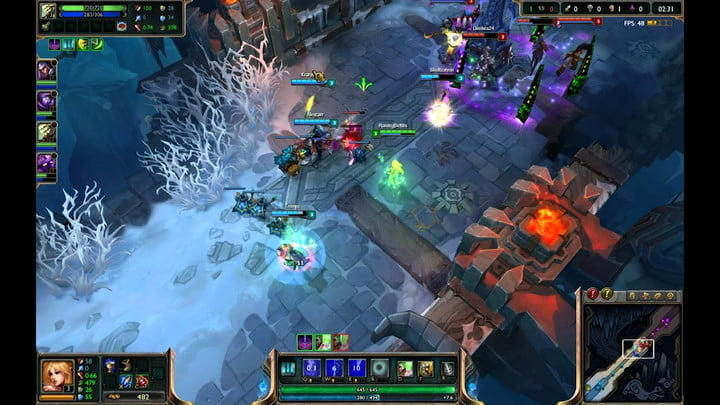 best free to play games mac league of legends