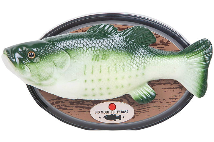 electronic gift deals under 100 big mouth billy bass  alexa compatible