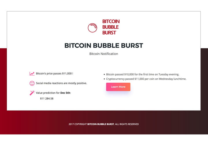 Sell! Sell! Sell! This AI tries to predict when the bitcoin bubble will pop