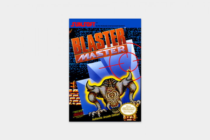 best nes games ever blaster master cover
