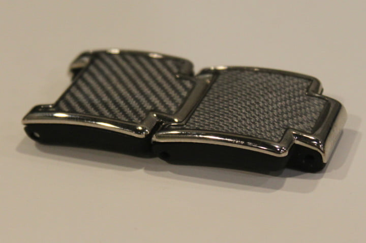 blocks smartwatch kickstarter coming  tateossian carbon fiber