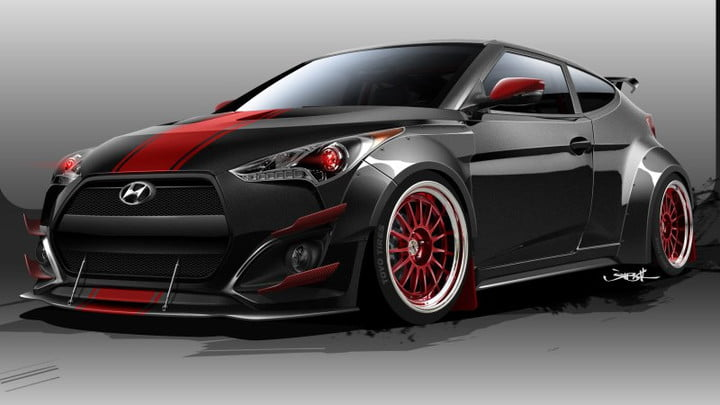 Blood Type Racing Hyundai Veloster R Spec Sketch