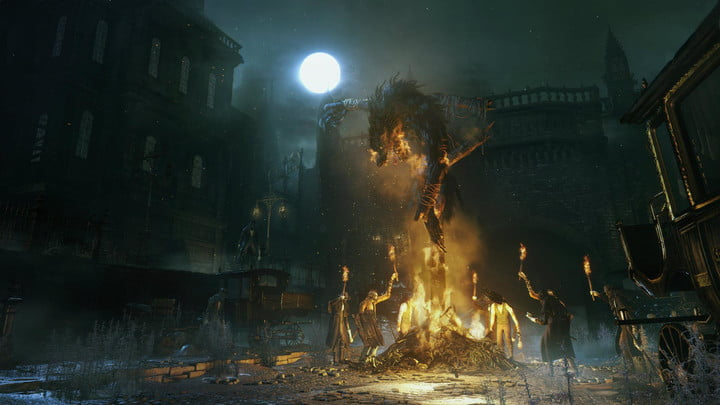 The spirit of Dark Souls rests in the rapidly beating heart of Bloodborne