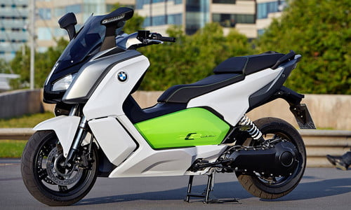 BMW C evolution scooter | Official specs, photos, and performance