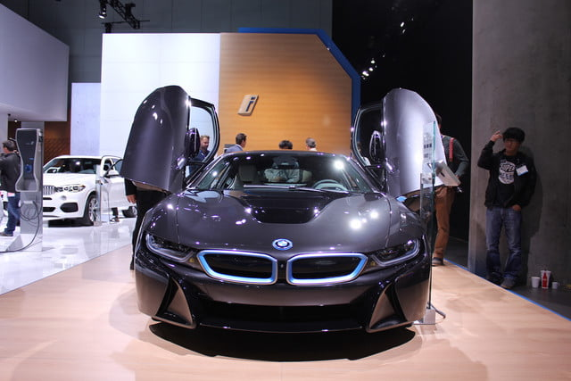 BMW i8 LAAS front