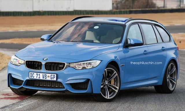 BMW M3 Touring Theophilis Chin front angle
