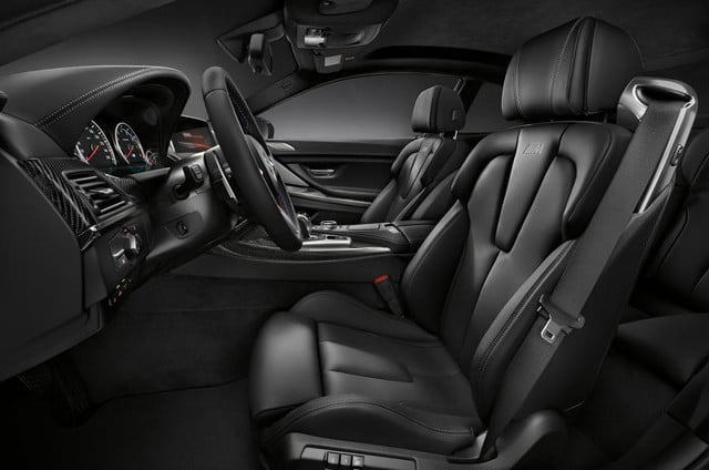 bmw m6 competition pack interior