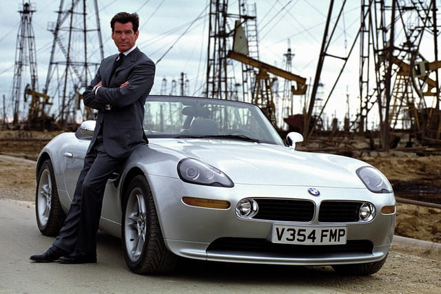 all time wackiest james bond cars bmw z8  the world is not enough 1999