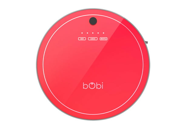 the bobi pet is a robot vacuum made to clean hair bobsweep face