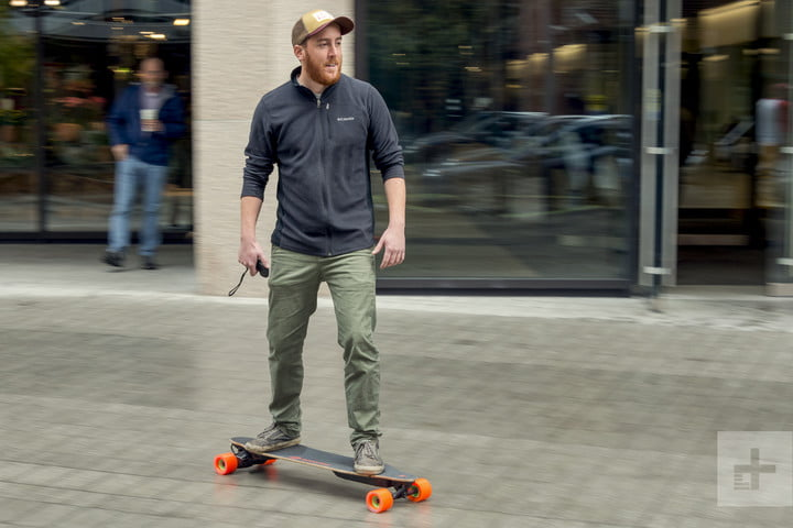 boosted 2 dual electric longboard review loaded skateboard ride3