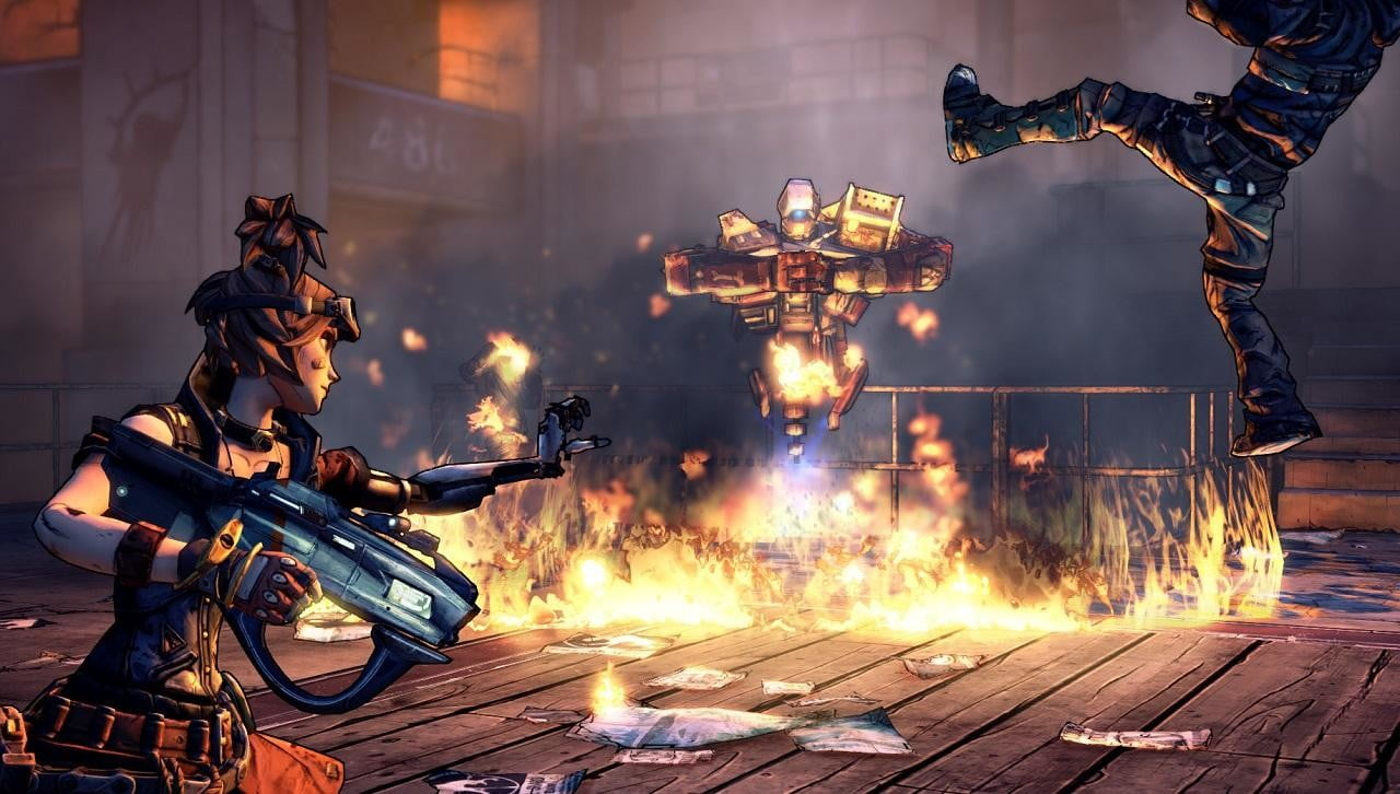 Borderlands 2 devs on creating the Mechromancer and the Psycho