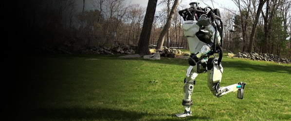 Watch Boston Dynamics' Atlas robot evolve from a stagger to a sprint